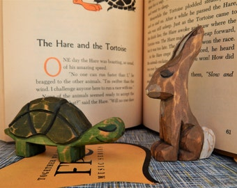The Hare and the Tortoise ( Literary characters)