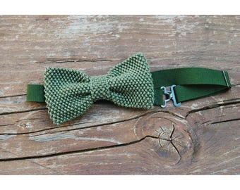 Green bow tie, BowTie customizable