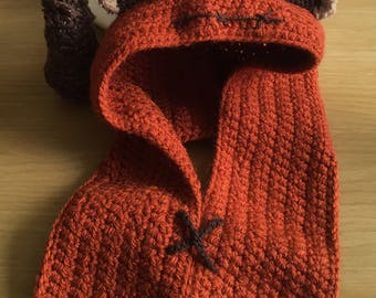 Newborn Ewok Hood (Vegan Friendly)