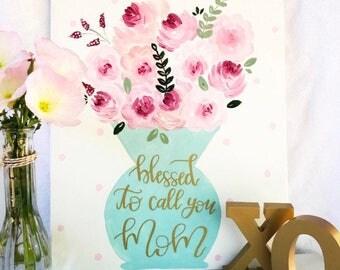 Flower Vase- Mother's Day