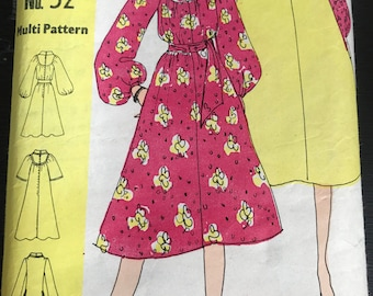 Vintage Family Circle Dress Pattern 52