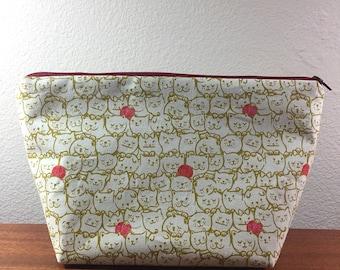 Medium Knitting Project Bag - *CATS*