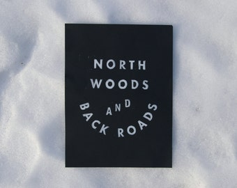 North Woods #2 - Block Print
