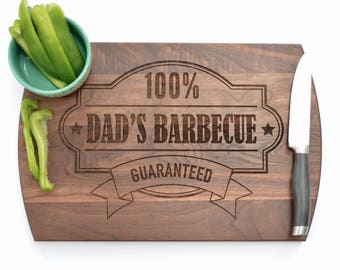 Father's Day Gift, Gift for Dad, Custom Gift for Dad, Personalized Gift for Dad, Dad's BBQ, Dad's Kitchen, Custom Cutting Board, Wood Board