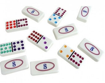 Customizable Professional Size Double 12 Dominoes