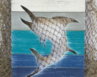 Marlin Beach Wall Art