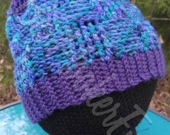 Convertible Bun Beanie/Hat