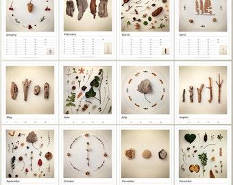 Birthday Planner, A4 Calendar, Birthday Calendar, Perpetual Calendar, Perpetual Planner, Anniversary Calender, Annual Calendar, Botanical