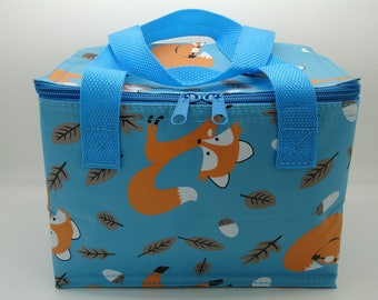 Fox Cool Bag for Lunches Lunch Boxes Foxes Bags Insulated Cooler Bag for Kids Children