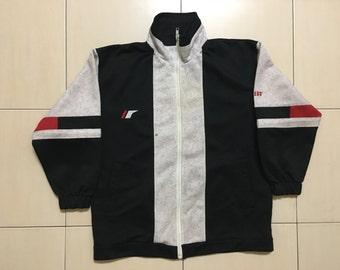 Vintage 90's Pro-Keds Sport Classic Design Skate Sweat Shirt Sweater Varsity Jacket Size S #A524