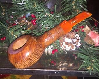 Shallow bowl, Pocket Briar Pipe, Briar Pipe, Pipe, Tobacco Pipe, Handmade Pipe, Smoking Pipe, wooden smoking pipe, greenleaf