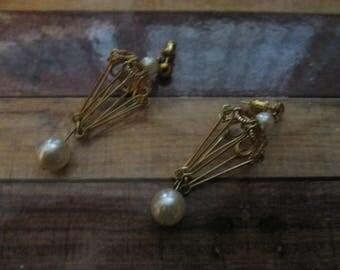 Lantern Earrings for Pierced Ears (1980s)