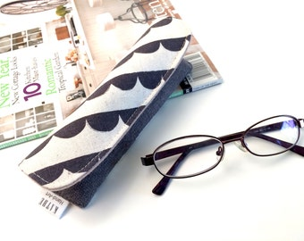Half circle stripes- Eyeglass hard case