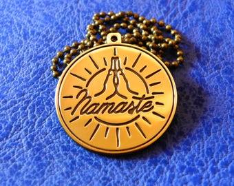 Namaste Yoga pendant