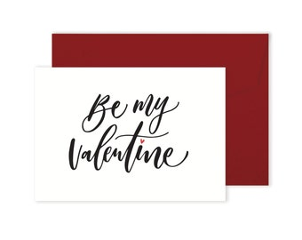 Be My Valentine - Card