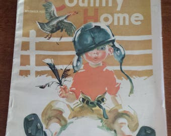 The Country Home 1933 Magazine