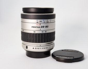 Pentax-FA 28-80mm Autofocus Zoom with Caps