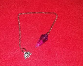Dowsing pendulum - Model pink