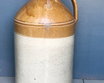 NOW SOLD !!! Stoneware Flagons / Earthenware Flagons / DemiJohns