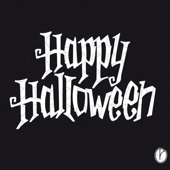 Happy Halloween Tips On Home Decoration 1: Happy Halloween -Printable