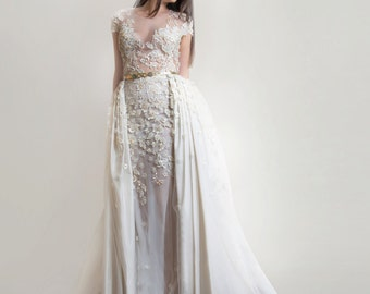 Bridal Couture, Wedding dress, Silk dress