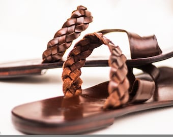 Handmade Men's Leather Sandals.