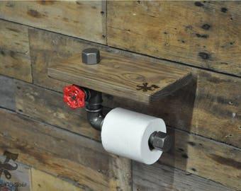 Door-rolls, paper hygienic, industrial, plumbing, vintage, old valve, cast iron, steel, decoration, Ironwoodstache