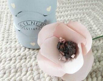 Single Paper Poppy - Handmade Custom colours
