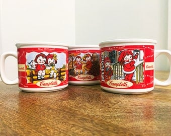 Campbell's Soup Vintage Mugs