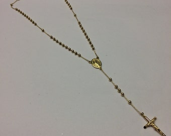 Rosario 18 kt yellow gold small