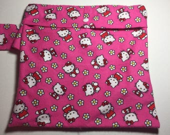 Wet Bag - Medium Hello Kitty Print