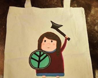 Little warrior bag 'Helga'