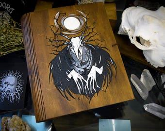 Book of Shadows,Sketchbook,Notebook - Wendigo