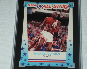 Michael Jordan 89-90 Fleer STICKER #3 Graded SGC 92 Nm-Mt+