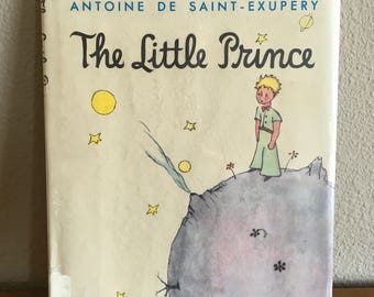 Vintage Copy of The Little Prince by Antoine De Saint-Exupery- Hardcover 1971 Edition of The Little Prince