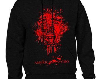 American Psycho (Christian Bale) Men's Black Hoodie