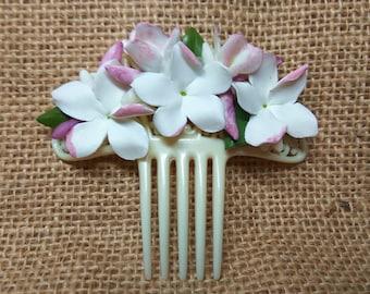 Jasmines comb - flamenco comb - Comb fair - Women Accessories - Accessories - Hand Comb - Cold Porcelain - Exclusive
