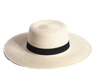 Guatemalan Palm Hat