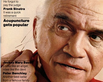 Lorne Greene People Magazine April 15, 1974 no label