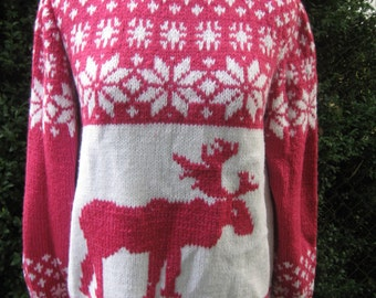 Sweater 'On a visit to Santa Claus'