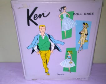 Vintage Ken Doll Case Early/First Issue ******* 1960's********* 1961