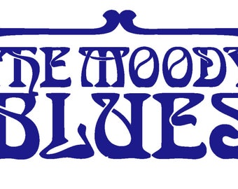 The Moody Blues Decal