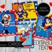 Valentine's Day DC Super Hero Girls PRINTABLE Editable Cards- Instant Download | DC comics | Super Hero Girls| Wonderwoman