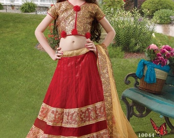 Indian kid lehenga choli/ readymade/kidswear/party wear/wedding wear