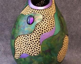 Fine Gourd Art - After the Rain