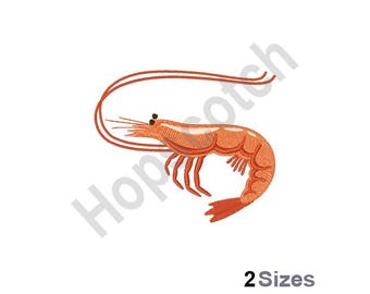 Little Shrimp-Machine Embroidery Design