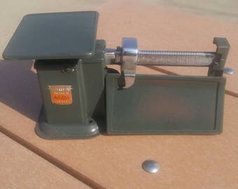 Two (2) 1938 Trainer Air Mail Accuracy Balance Scales Priced separately as in each