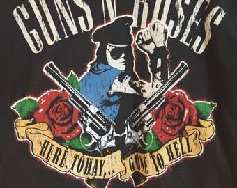 Guns N' Roses theatre tour 1991 shirt