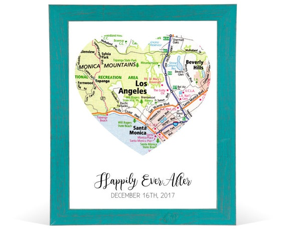 Custom Travel Map Personalized Wedding Gifts for Couple Custom ...