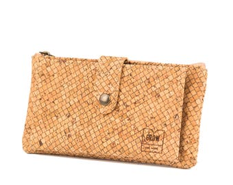 Unisex Cork Wallet, FREE SHIPPING, Vegan, Eco and Sustainable Product, Vegan Leather, Made in Portugal